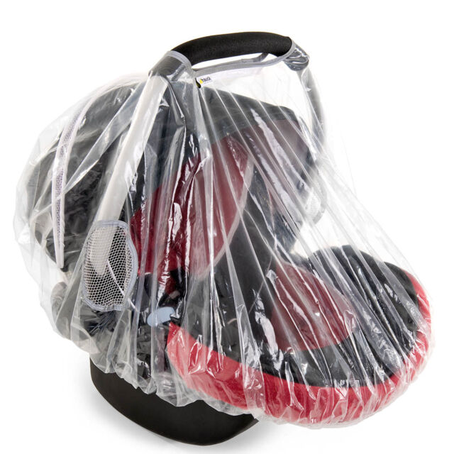 NEW HAUCK RAINY BABY 0+ CAR SEAT RAINCOVER INFANT CARRIER RAIN COVER FOR CARSEAT