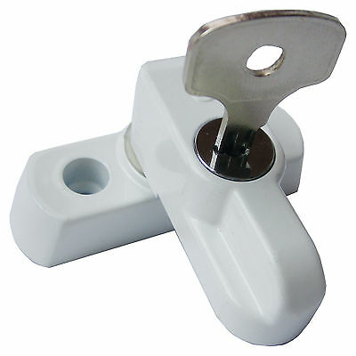 6 Key Locking Sash Blocker Window Jammer UPVC Door Window Locks SJ 5176