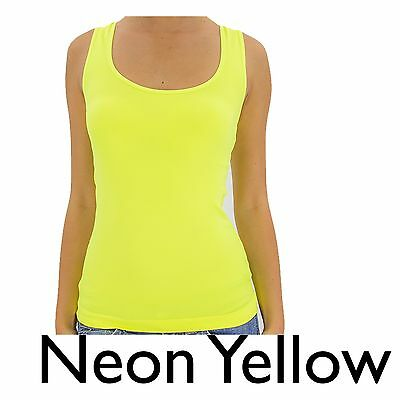 Women's Racerback Ribbed Tank Top Lace Back Basic Cami Solid Seamless Tee Shirt