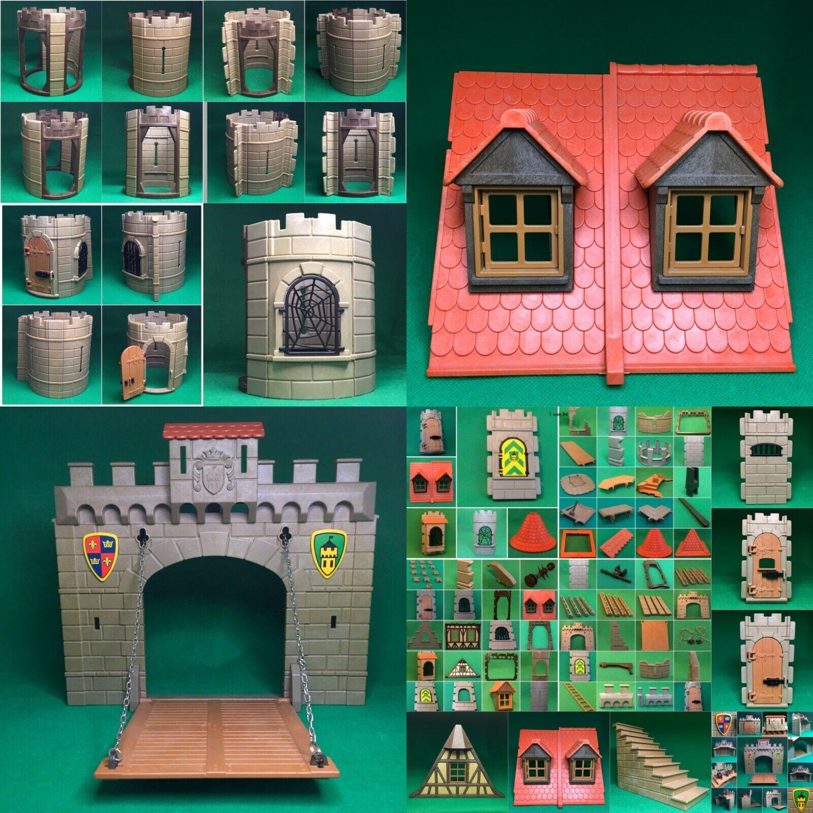 Playmobil Ritterburg Burg Castle Ritter Ersatzteile 3665 3666 3667 3445  #Pm4