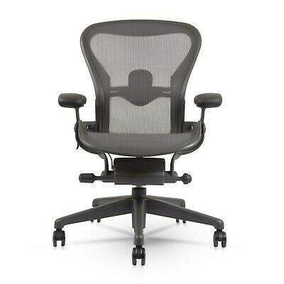 Herman Miller Aeron Chair Remastered Brand New Size B Lumbar Support