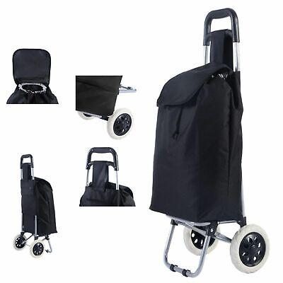 Shopping Trolley Cart Large Capacity Light Weight Wheel Folding Travel Suitcase