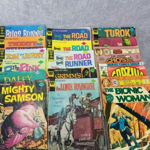 Lot of 16 Comics Cartoons Mystery Horror TV Mixed Lot 1970s