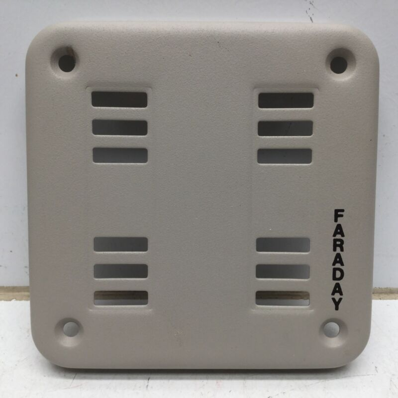 FARADAY 5004B-0-15 Surface Grille for Horn Fire Heat Detector, Dawn Mist Color