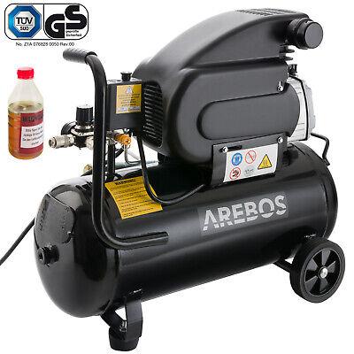Druckluft Kompressor Luftkompressor 1500W 24L GS geprüft 2PS 2850rmp