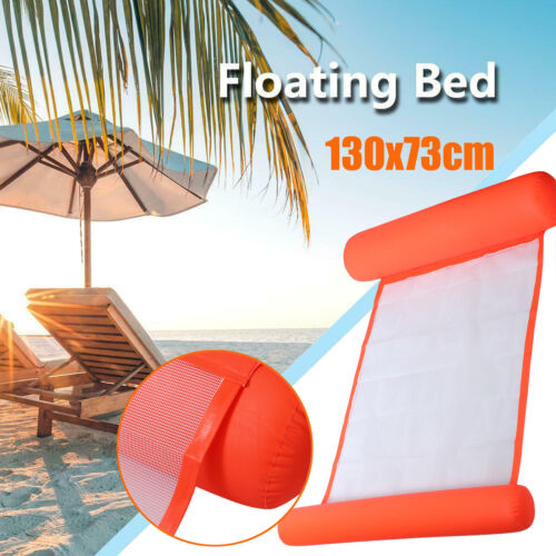 Inflatable Floating Water Hammock Float Pool Lounge Bed Swim