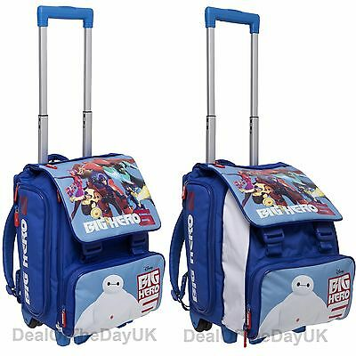Big Hero 6 Kids Trolley Backpack Cabin Bag Hand Luggage Case School