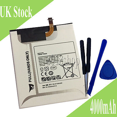 4000mah 3.8v Li-ion Battery For Samsung Galaxy Tab A Sm-t280 Sm-t285 Sm-t287