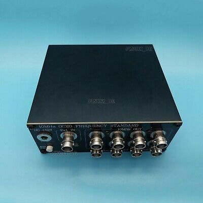 10mhz Ocxo Oven Controlled Crystal Oscillator Clock Bncq9 Version 8-way Output