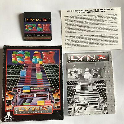 Klax / CIB / Atari Lynx Game