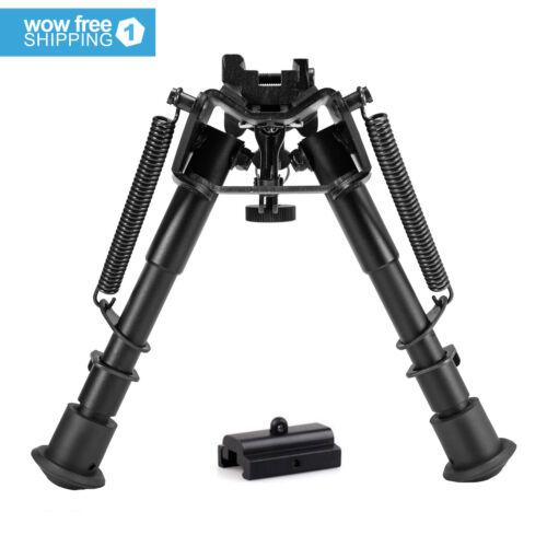 Adjustable Universal Rifle Bipod w/Swivel Stud Mount& Rail M