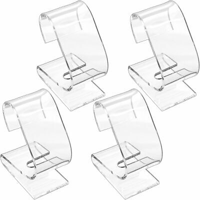 4 Clear Watch Displays Acrylic Stand Showcases Tools