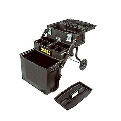 Stanley FATMAX 4-in-1 Cantilever Tool Box Mobile Work Station Center Storage (Stanley Fatmax Toolbox)