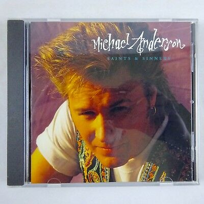 Michael Anderson  Saints   Sinners  Cd 1993 Forefront Records