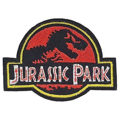 Jurassic Park Iron On Patch Uniform Movie Film Cosplay Logo Costume Dinosaur (Jurassic Park Dinosaur Costume)