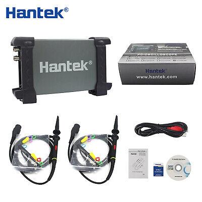 Hantek 6022be Usb Oscilloscope 20mhz Bandwidth 2 Channels 48msas