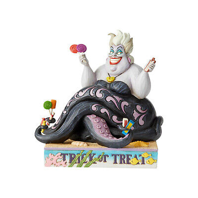 Disney 2019 Jim Shore Villain Ursula Trick or Treat Halloween Figurine 6002837 ()