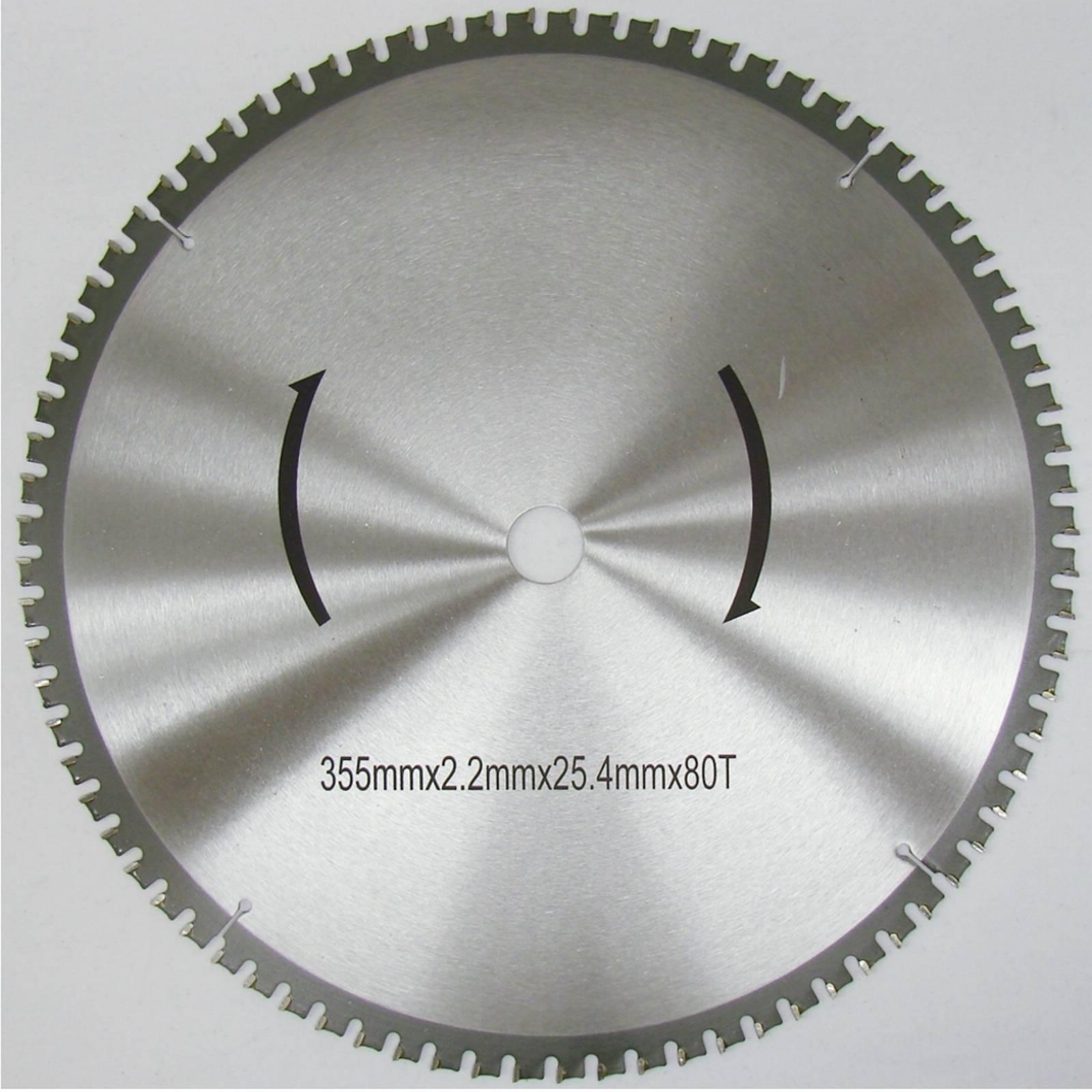Metall-KREISSÄGEBLATT 355mm für Eisen Alu Hartkunststoff PVC etc NEU
