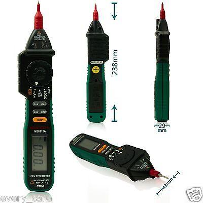 Mastech Ms8212a Multimetro Pen Type Digital Multimeter Logic And Ncv Tester