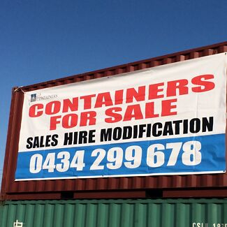 20FT 40FT SHIPPING CONTAINERS SALE ON NOW!!