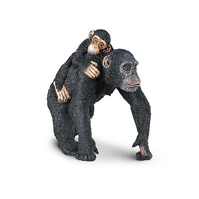 Chimpanzee With Baby Wild Safari Animal Figure Safari Ltd NEW Toys Animals Fun](Safari Animals Toys)