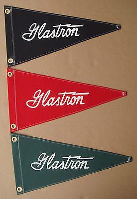 Glastron Vintage Style Boat Flag Reprodution Pennant Retro Nautical Memorabilia