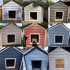 Insulated Dog Houses ( Maetche Construction)