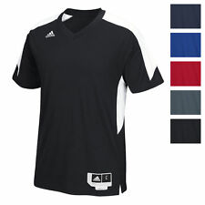 adidas Men's Commander 15 Shooter Shirt Athletic Slim Fit Training Vent Back Tee