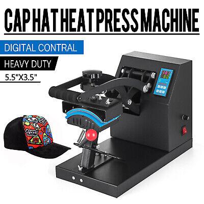 Digital Baseball Hat Cap Heat Press Machine Sublimation Clamshell Transfer