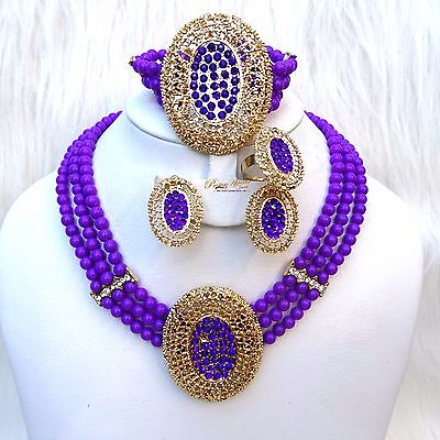 Cheap Blue Necklaces (Cheap Fashion Costume Blue Green Purple Necklace Fashion Earring Jewellery)