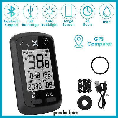 GPS Bike Wireless Compute Waterproof Cycling Speedometer Bicycle Odometer Ant+
