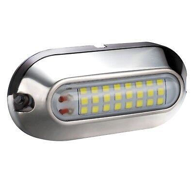 - 2pk | LED Pontoon Boat Docking Light | Bright White|  Marine Boat Light | 12V