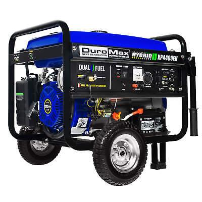 DuroMax XP4400EH Hybrid Portable Dual Fuel Propane / Gas Cam