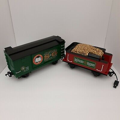 Christmas Town Express Rudolph's Red Nose Express Train Set Replacement Parts