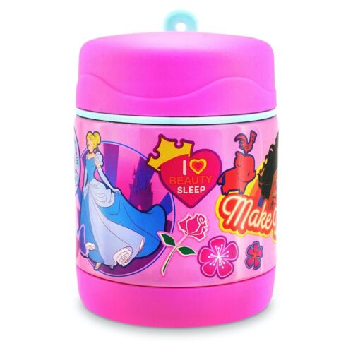 DISNEY STORE PRINCESS HOT COLD LUNCH FOOD CONTAINER NEW