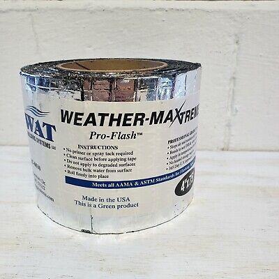 Swat Weather Xtreme Self-adhesive Flashing Tape 4 X 75