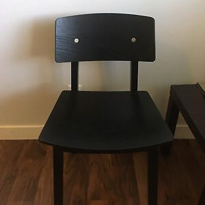 Side table and chair