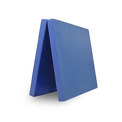 Grevinga® RESTPOSTEN klappbare Turnmatte ca. 200 x 100 x 8 cm in blau - RG 22