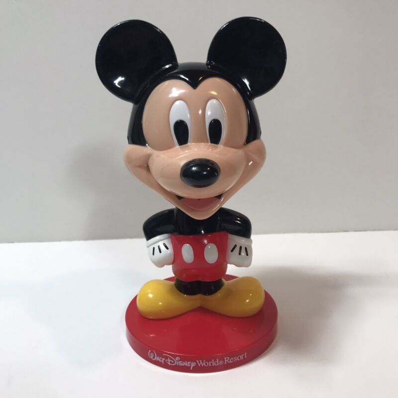 Rare Vintage Mickey Mouse Bobblehead Walt Disney World Resort