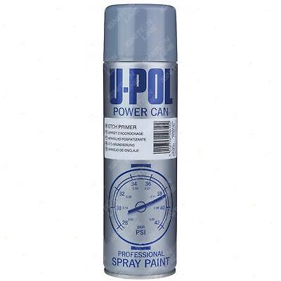 Isopon U-Pol Powercan Etch Primer Spray Paint Aerosol Anti-Corrosive 500ml