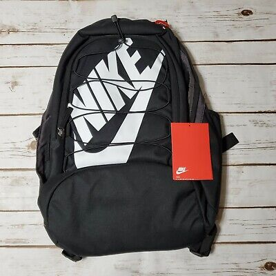 NIKE Hayward Futura 2.0 Backpack Black White BA5883 010 - New