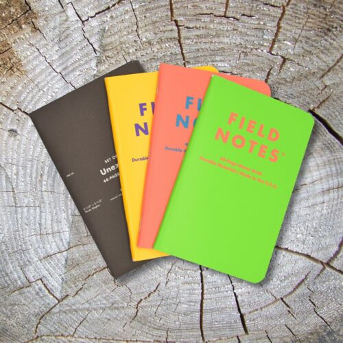 Field Notes Unexposed - Open Three-Pack