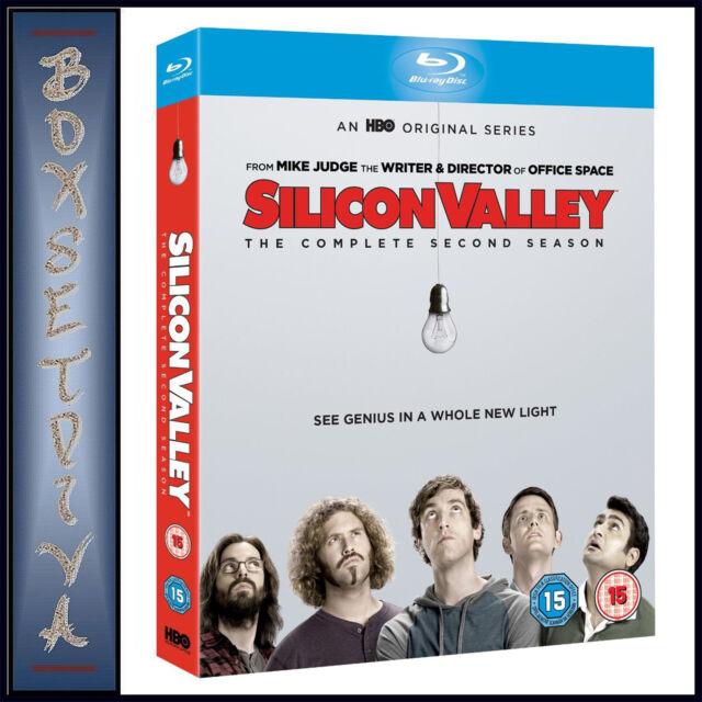 SILICON VALLEY - COMPLETE SEASON 2  *BRAND NEW BLURAY **