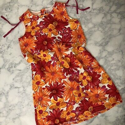 Hannah Andersson Floral Dress Girls Size 130 See Size Chart in Pics