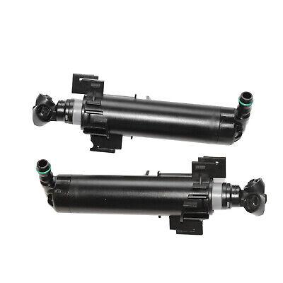 Front LH & RH Headlight Sprayer Washer Headlamp Nozzle Jet For Audi A4L B8 2012
