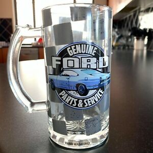 Ford Stein Glass with Bottle Opener