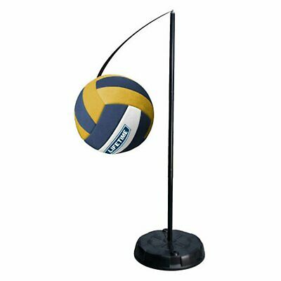 Tetherball System Portable Pole Set Heavy-Duty Outdoor Playground Sport Game