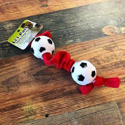 Lil Pals Plush Toys & Tugs - Soccer Ball Tug Toy Soccer Ball Tug Toy (Plush Soccer Ball)