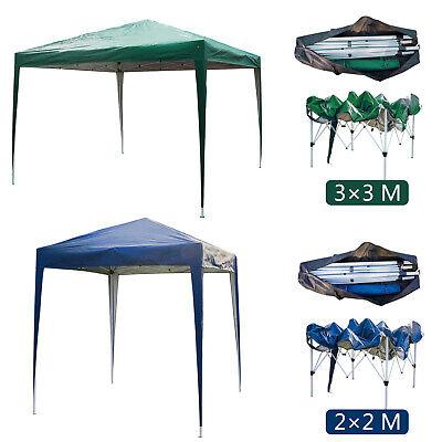 Gazebo Pop-up Waterproof Marquee Canopy Garden Wedding Party Tent 2Mx2M/3Mx3M