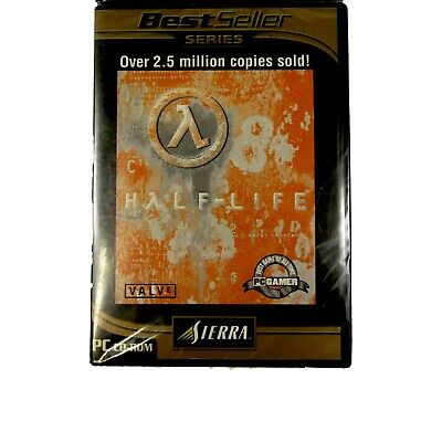 Half-Life Valve Sierra CD-Rom Best Seller Series New Original Game of Series
